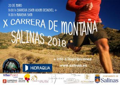 X Carrera de Montaña de Salinas 2018
