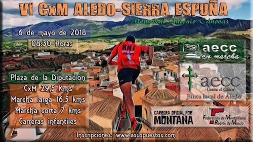 6ª CARRERA POR MONTAÑA ALEDO - SIERRA ESPUÑA