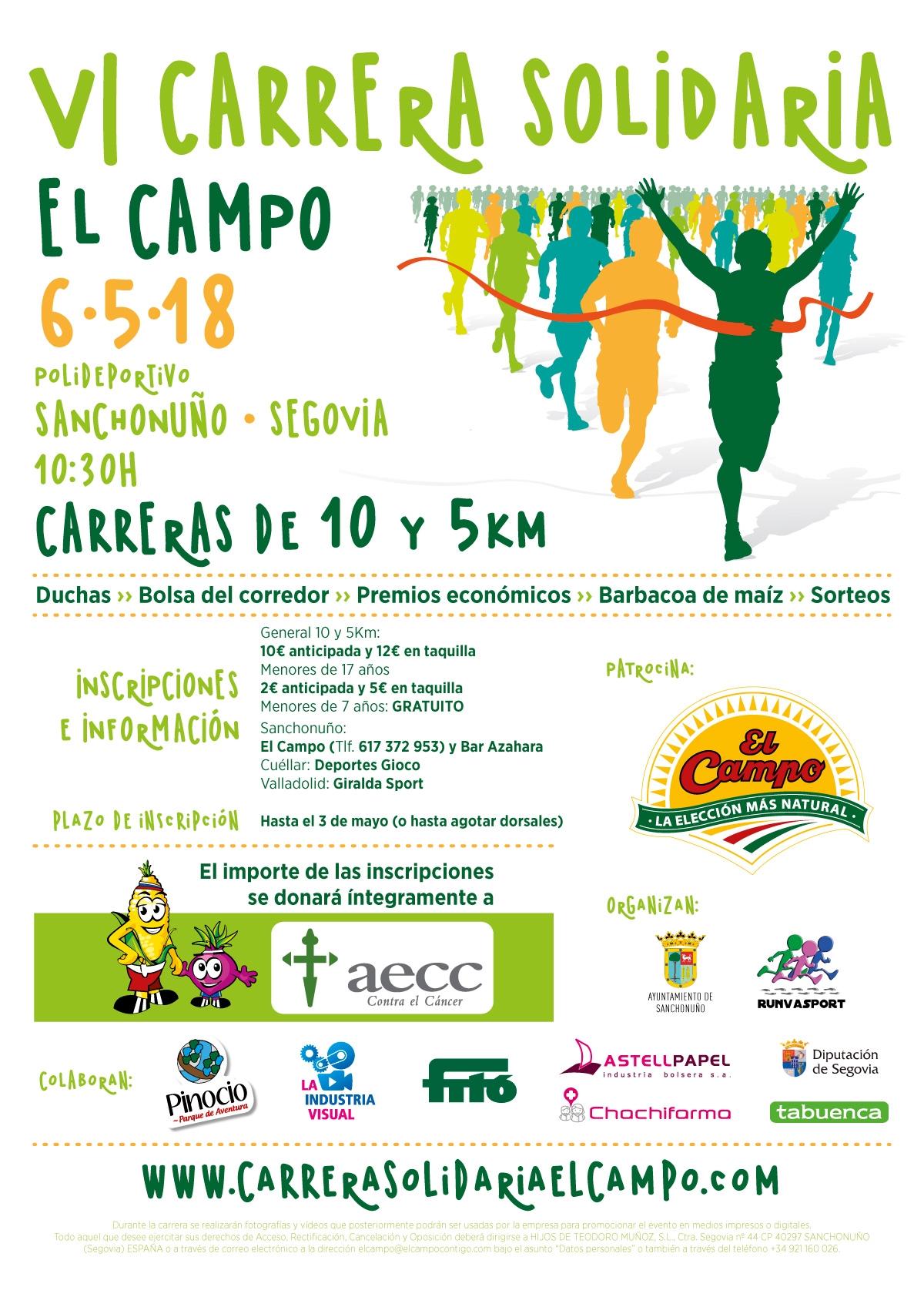 6ª CARRERA SOLIDARIA EL CAMPO