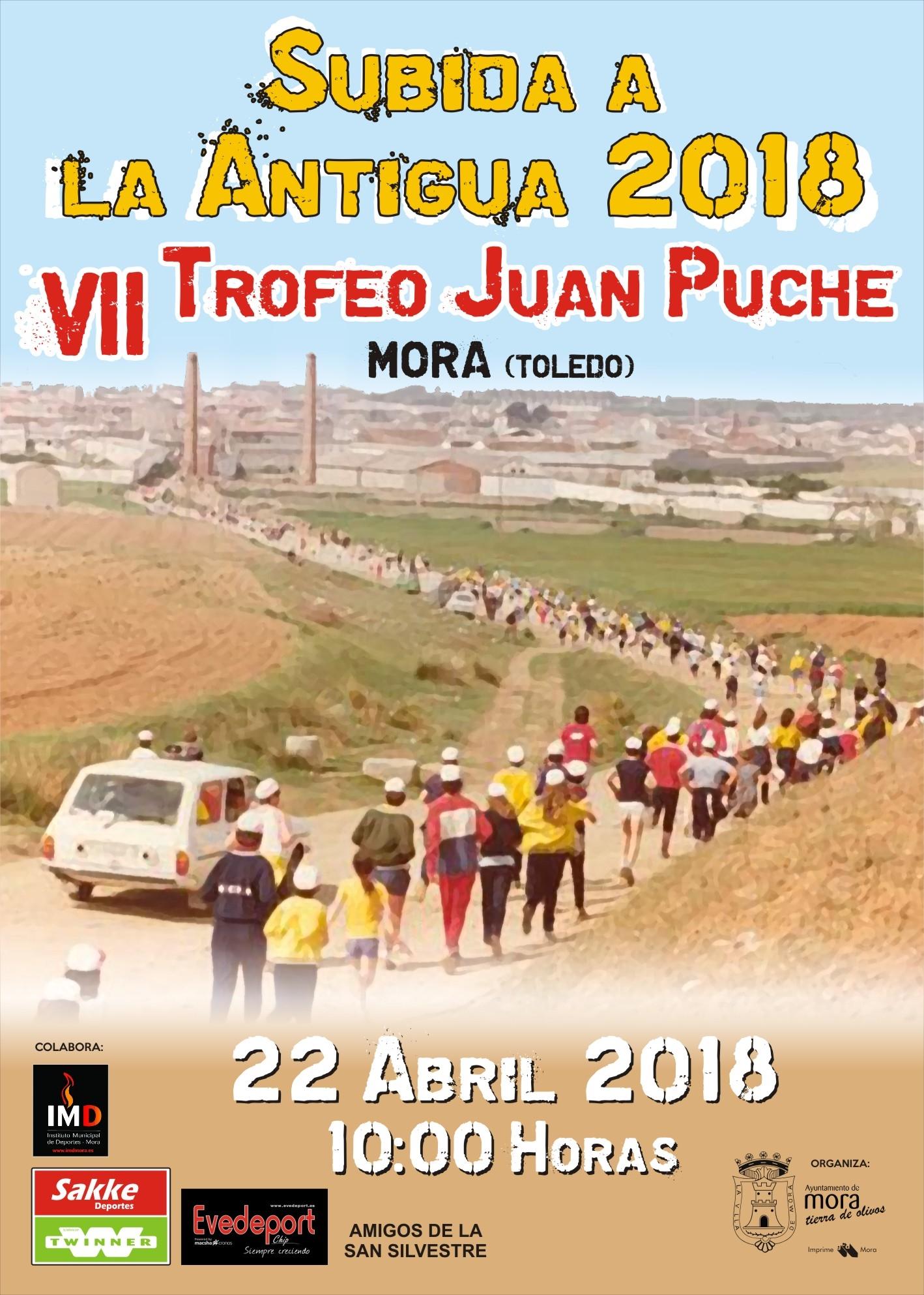 """VII SUBIDA A LA ANTIGUA """"Trofeo Juan Puche"""""""""""