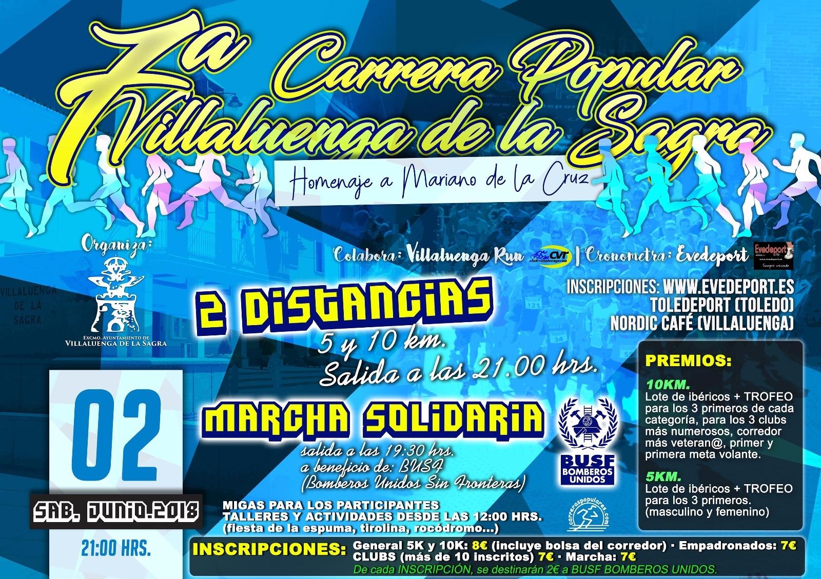 VII CARRERA POPULAR VILLALUENGA DE LA SAGRA