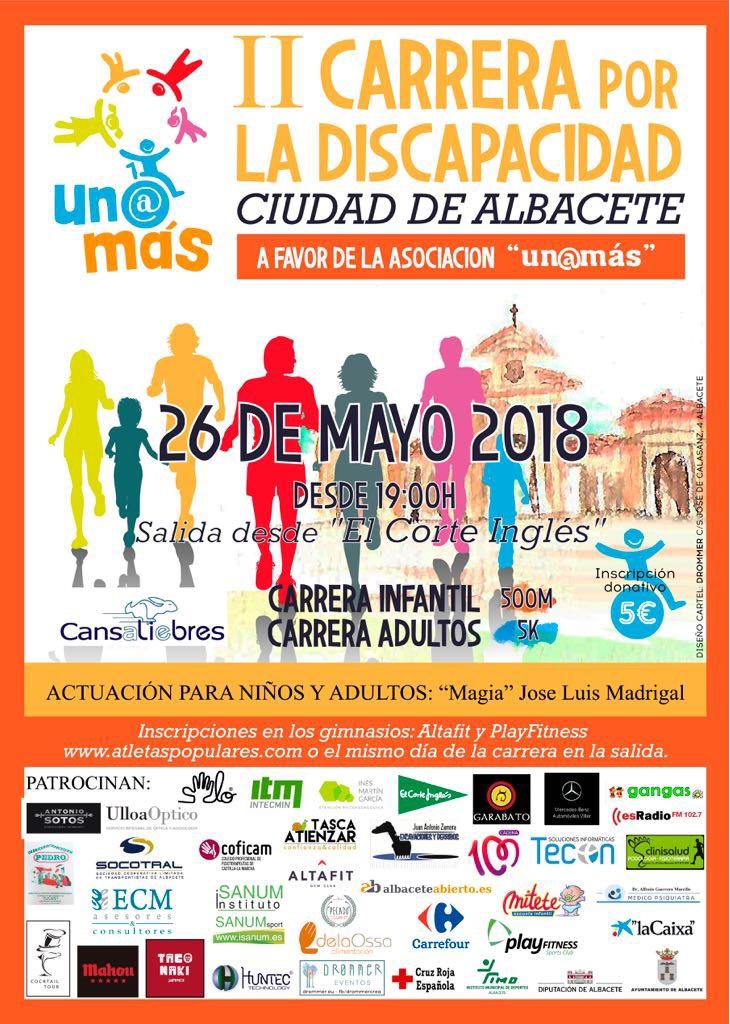 II Carrera por la Discapacidad Ciudad de Albacete