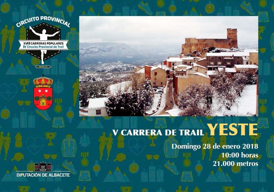 V Carrera de Trail de Yeste