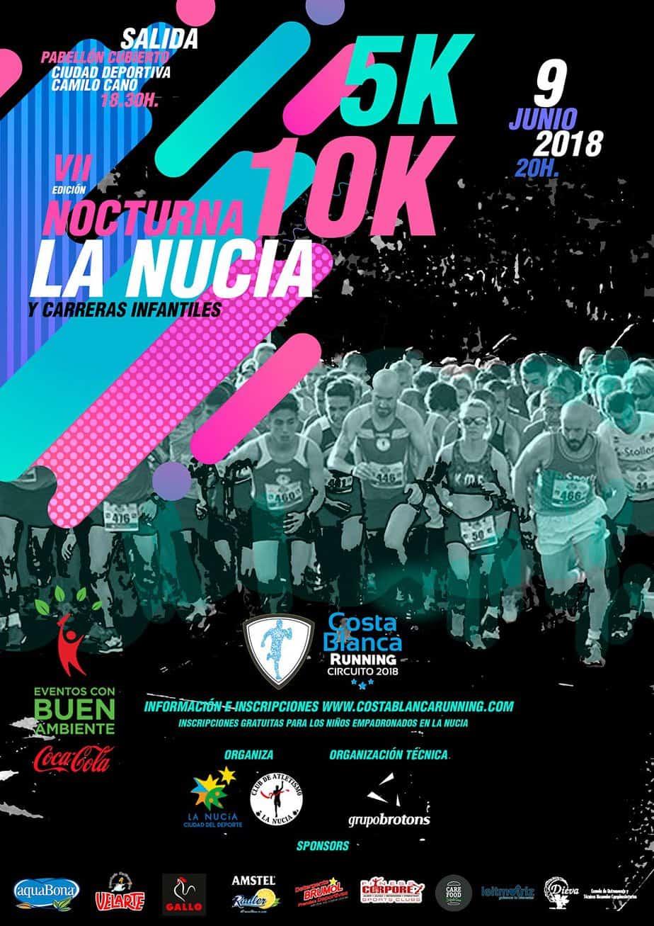 VII 5K 10K Nocturnos La Nucia
