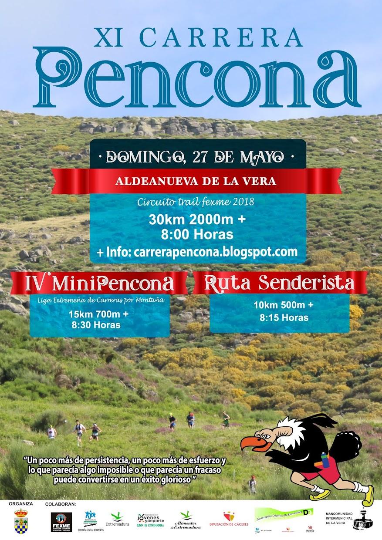 XI CARRERA PENCONA DE MONTAÑA