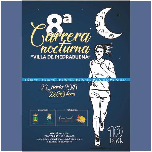CARRERA NOCTURNA VILLA DE PIEDRABUENA 2018