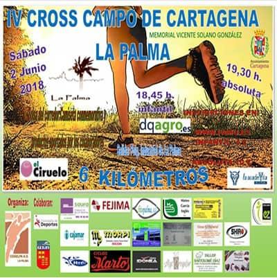 IV Cross Campo de Cartagena – La Palma
