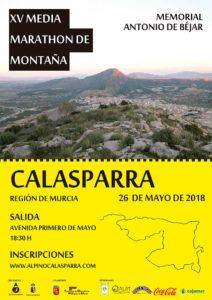 """XV Media Maratón de Montaña y 10'5 Km""""Memorial Antonio Béjar"""""""