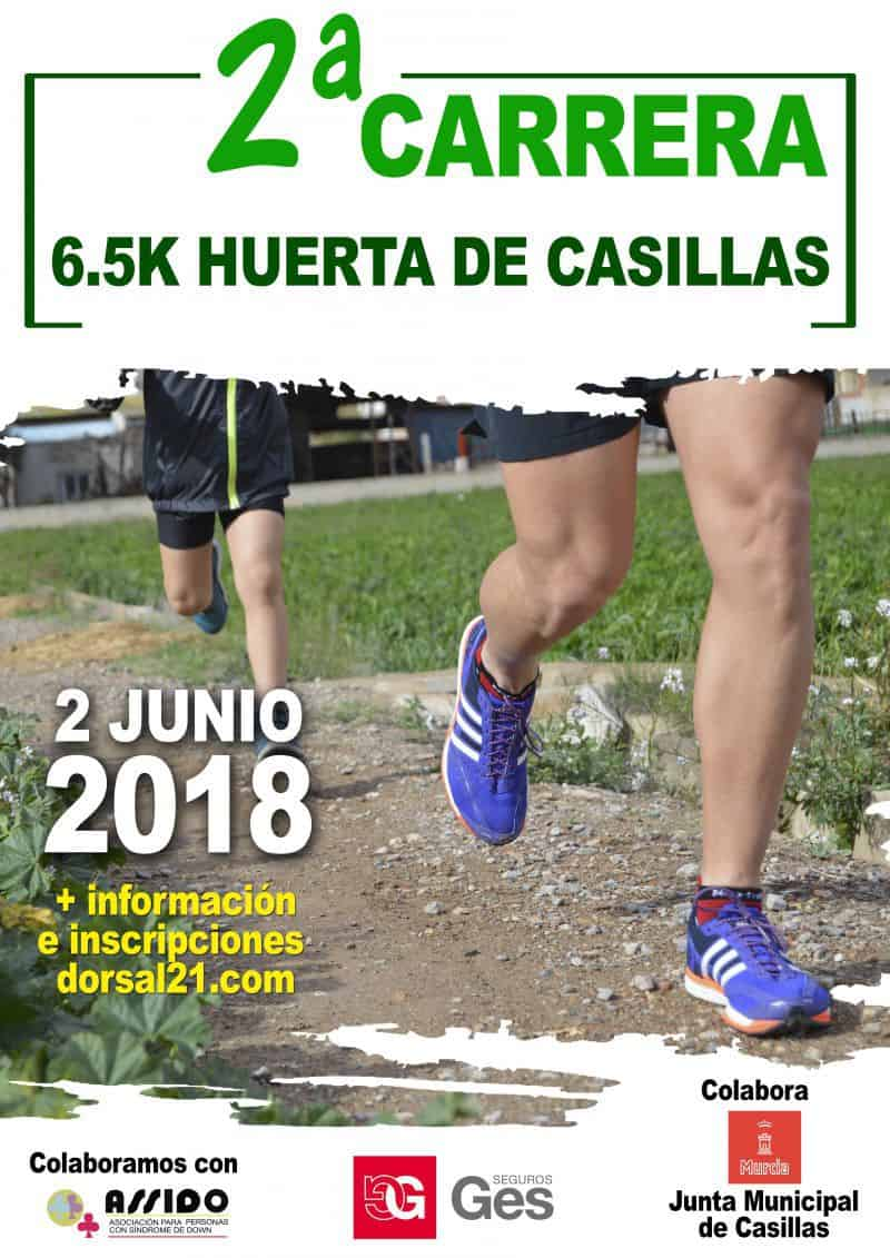 II CARRERA POPULAR 6,5K HUERTA DE CASILLAS