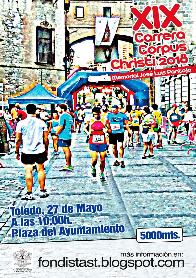 19ª CARRERA POPULAR CORPUS CHRISTI DE TOLEDO