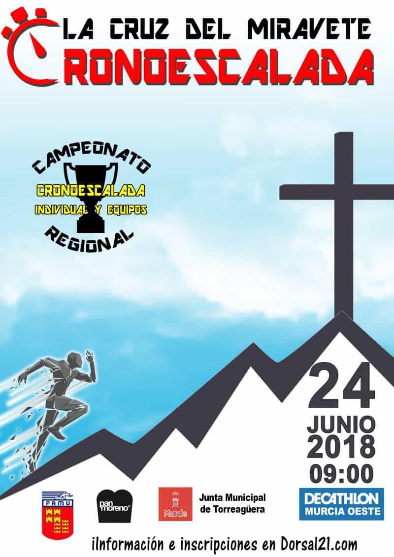 JUN 24 2018 I CRONOESCALADA CRUZ DEL MIRAVETE